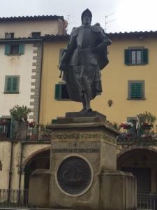 Giovanni da Verrazzano was born around 1485 near Val di Greve, 30 miles south of Florence, Italy. Namesake of the bridge between Staten Island and Brooklyn, NY.